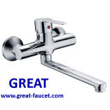 Wall-Mounted Kitchen Water Faucet