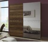 Modern Sliding Door Wardrobe with Mirror (SZ-SW005)