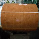 Decoration Material Prepainted Steel Coil Wood Pattern PPGI