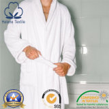 100% Cotton Hotel/Motel/Home Bathrobe with Terry Inside