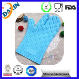 3 Fingers Waterproof Heat Resistant Silicone Mitts