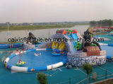Crazy Summer Giant Inflatable Water Playground Equipment Water Park for Sale