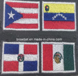 Flag Logo Garment Embroidery