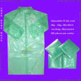 Disposable HDPE Laboratory Coat, Disposable LDPE Lab Coat