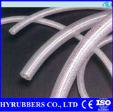 Suction Steel Wire or Fiber Braided PVC Hose Flexible