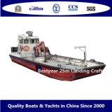 25m Multipurpose Steel Landing Craft Boat / Barge