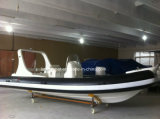 Lianya Luxury 10 Persons Rigid Inflatable Boat for Sale