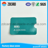 Aluminium Foil Paper RFID Blocking Sleeve/RFID Card Sleeve