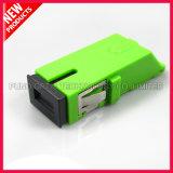 Fiber Optic SC APC Shuttered Adapter