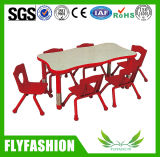 Popular Cheap Kindergarten Adjustable Tables and Chairs Sf-10c