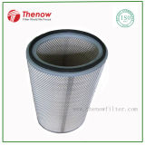 Oval Shape Air Filter Cartridge, Oval Dust Collector Filter Element