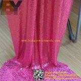 Fashionable Metallic Cloth Curtains Metallic Mesh Fabric