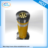 LED Light 304 Stainless Steel Full Automatic Retractable Hydraulic Bollard