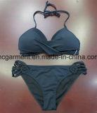 Stylish Sexy Black Color Bikini Woman/Lady Two-Pieces Beachwear Swimwear