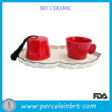 Ethnic Style Ceramic Turkish Three Set Coffee Cups