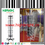 Steel Wire Rotating Display Stand for Greeting Card