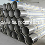 Stainless Steel 316L Pipe Base Screen Pipe/Casing Pipe Wrapped with Continuous Slot Screen