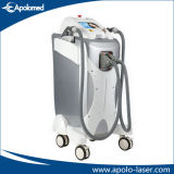 Floor Standing E-Light IPL + RF Super Hair Removal and Photorejuvenation Beauty Machine with Two Big Spot Sizes Handpiece (HS-320E)