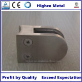 Middle D Round Glass Clamp for Glass Railing Balustrade