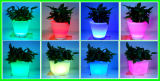 Private Villas Garden Restaurant Decoration Colorful RGB LED Flowerpot