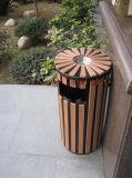 Wood Plastic Composite Dustbin with CE, Fsc, SGS, Certificate
