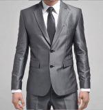 Top-Quality 2-Button Sliver Wrinkle-Free Men's Fashion Business Dress Suit (LJ-1042)