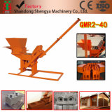 Hand Operation Qmr2-40 Clay Lego Block Machine
