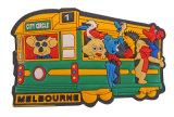 Customized Promotional Gifts 3D PVC Fridge Magnet as Tourism Souvenir