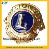 Wholesale Souvenir Award Badge with Lion Logo for Decoration