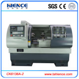 Low Price CNC Turning Lathe Metal CNC Machine with Bar Feeder Ck6136A-2