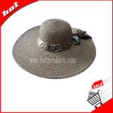 Woman Straw Paper Hat Paper Straw Hat