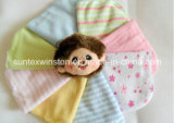 80% Cotton Baby Wash Cloth, 6 PCS Per Bag