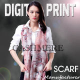2017 Newest Digital Print on Cashmere