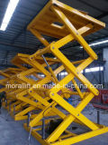 Hydraulic Scissor Freight Lift with CE