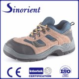 Suede Leather Steel Toe Safety Shoes for Workman RS6118