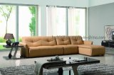 Living Room Genuine Leather Sofa (SBL-618)