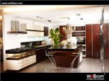 2015 Welbom Modern Lacquer Kitchen Cabinet with Island Design