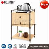 Knockdown Design Cheap Sale Steel Wooden Furniture Durable Teacup Storage Sets