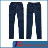Denim Girls Kid Elastic Waistband Pants (JC5121)