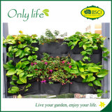 Onlylife Hanging Grow Bag Vertical Grow Bag Felt Vertical Planter