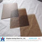 Bronze Nashji/Karatachi Sheet Pattern Glass for Building Glass