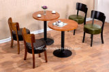 Hot Sale Solid Wood Dining Table and Chair Set for Home Use (LL-BC0087)