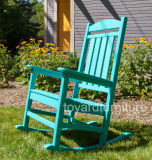 Classical Relaxing UV Protected Polywood Wooden Presidential Rocker Chair
