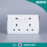 British Standard Hl2013 Double 13A Switched Socket
