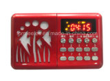 Portable Card Radio Amplifier USB TF FM Radio