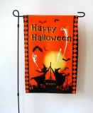 Assorted Polyester Happy Halloween Flags (PM128)