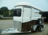 Two Horse Trailers/Horse Floats Staight Load From China Manufacturer