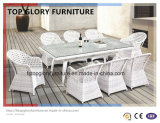 White Rattan&Wicker Dinner Furniture (TG-1612)
