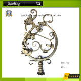 Ornamental Wrought Iron Dragon for Wrought Iron Railing and Iron Gate