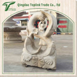Granite Stone Carving Sculpture/ Stone Statue for Garden Decoration